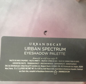 Makeup Urban Decay Urban Spectrum Eyeshadow Palette