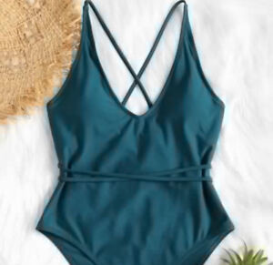 One piece swimsuit - New with tags, US4/6