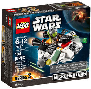 LEGO STAR WARS,	MicroFighters: The Ghost #75127