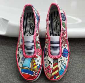 One of a kind handpainted kicks! - New