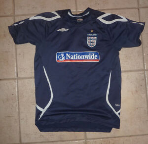 Soccer Jerseys, T-shirt: England, $ 5 ea, fit around 8-12 years Kitchener / Waterloo Kitchener Area image 1