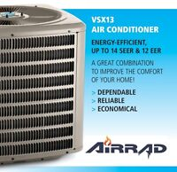Air Conditioning & Heating Services - Local, Full Warranties