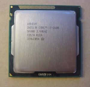 Intel Core i7-2600 3.4GHz Quad-Core Processor CPU 1155