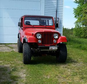 Jeep CJ7 / 1978