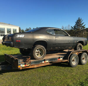 Looking for body parts for a 72  plymouth duster