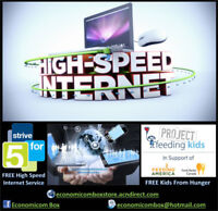 High Speed Internet - Free service opportunity