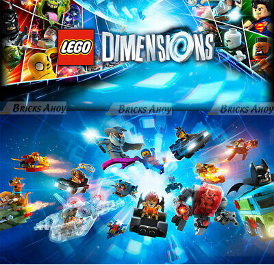 LEGO Dimensions - LEVEL / TEAM  / FUN PACKS - You Pick & Choose - New & Sealed