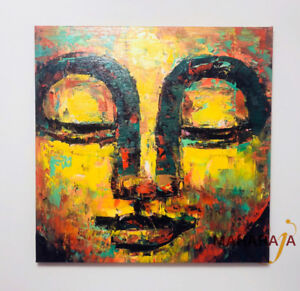Exquisite Handmade Painting on Canvas