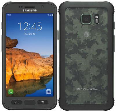 Samsung Galaxy S7 active SM-G891 - 32GB - Camo Green (AT&T) Smartphone Unlocked