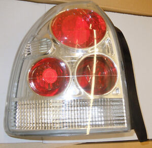 1996 97 98 99 00 Honda Civic Euro Tail Lights / Lamps 3Doors