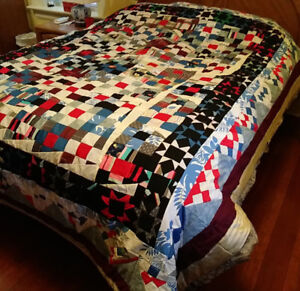"""Home Made Quilt/Bedspread, """"Spotify"""""""