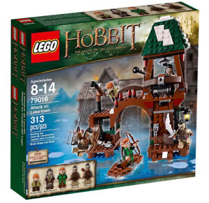 Brand New Lego Hobbit Attack on Lake-town 79016