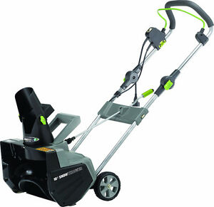 Earthwise SN71018 18-Inch Corded Snow Thrower
