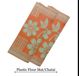 Plastic Floor Mat/Chatai(Brand new)