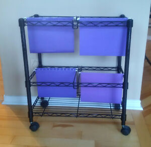 Portable Filing Stand Kitchener / Waterloo Kitchener Area image 1