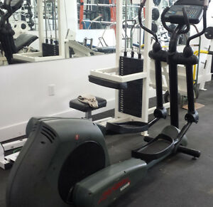 Used Commercial LifeFitness 9500HR Elliptical for sale.