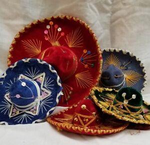 MINI MEXICAN SOMBREROS