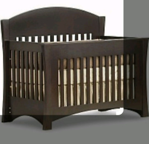 3 in 1 Crib, toddler bed to Double Bed