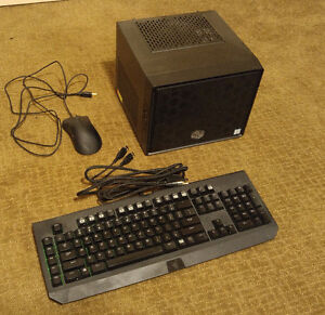 Custom Gaming Mini Computer with Razer Keyboard and Mouse