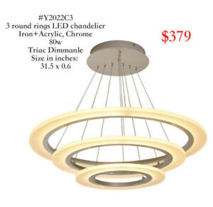 LED Chandeliers Clearance Sale