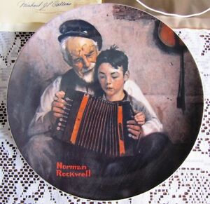 *** Norman Rockwell Collector Plates = 21 Plates in Total ***