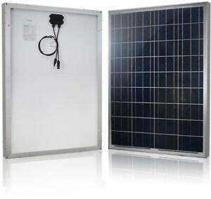 NEW 200W SOLAR PANEL OFF GRID RV BOAT CHARGER BSM200P