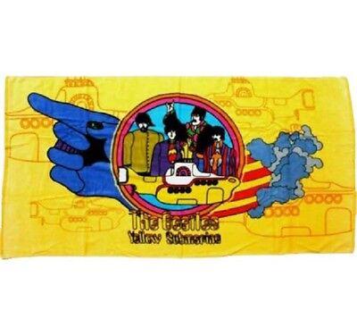 New Cartoon Theme The Beatles Yellow Submarine Bath Beach Pool Towel Licensed](Beach Themed Pools)