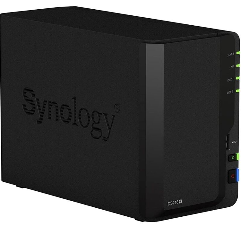 Synology DS218+ DiskStation, DS218 Plus - Upgraded RAM to 6GB RAM Original