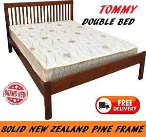 BRAND NEW Double Bed SOLID TIMBER Bed Frame DELIVERED FREE New Farm Brisbane North East Preview