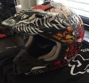 Helmet dirt bike
