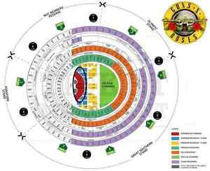 Guns N' Roses: Not In This Lifetime Tour hardcopy ticket x2 South Yarra Stonnington Area Preview