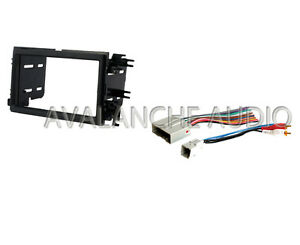 Complete Double DIN Ford Car Stereo Radio Dash Installation Kit W/ Wire Harness