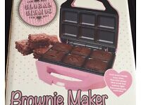 Counter top brownie maker