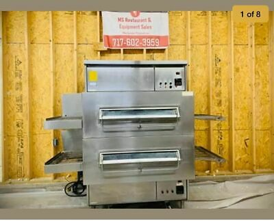 Middleby Marshall Ps360g Double Stack Conveyor Pizza Ovens Tested Working