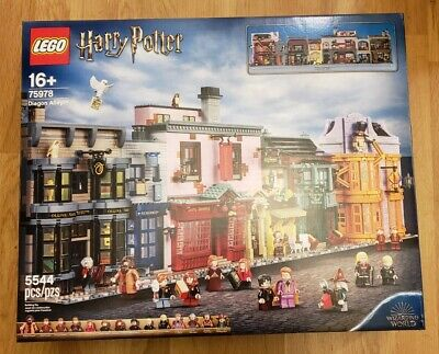 LEGO 75978 Harry Potter Diagon Alley **BRAND NEW, FREE SHIPPING, FLAWLESS BOX**