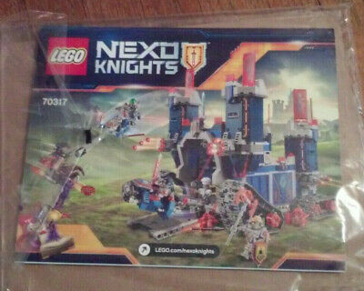 +INSTRUCTIONS ONLY LEGO FORTREX 70317 Nexo Knights NO BRICKS booket manual