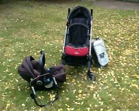 Graco logico s hp delux travel system buggy pram