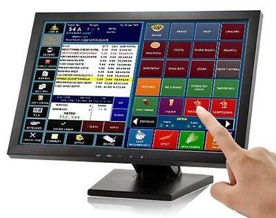 """شاشة ليد جديد Brand New Alloxx 15"""" Touchscreen LCD VGA POS Touch Screen 15 Inch Monitor"""