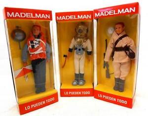 lote-de-3-MADELMAN-sin-abrir-buzo-marinero-cazador-geyperman-militar-soldado