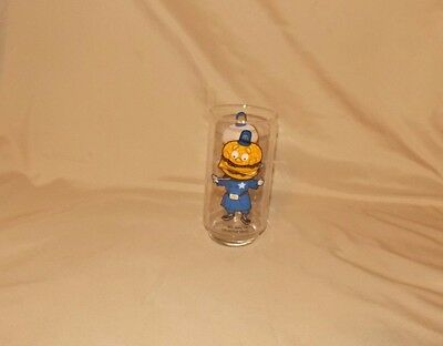 Vintage BIG MAC McDonalds Drinking Glasses Glass Cup Collector Series Promo