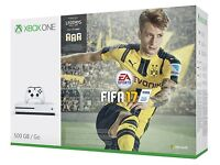 Xbox One S 500 GB - New and sealed with Fifa 17