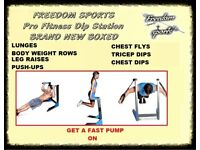 Pro Fitness Dip Station Brand New Boxed SEE ALL PICTURES VOTED IN TOP 10 DIPSTATIONS 2017