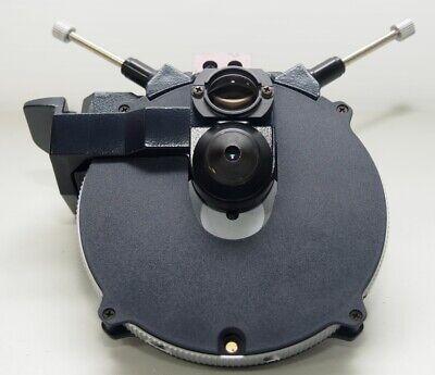 Leica 501165 Phasedarkfield Condenser W 0.90na Pol 8 Position Turret