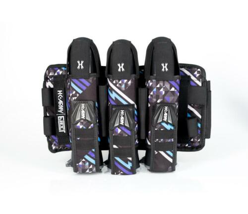 New HK Army Eject 3+2+4 Paintball Pod Harness / Pack - AMP Purple/Teal/Black