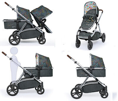 Brand new Cosatto Wow XL tandem pushchair in Nordik with buggy board & Raincover for sale  Bedford