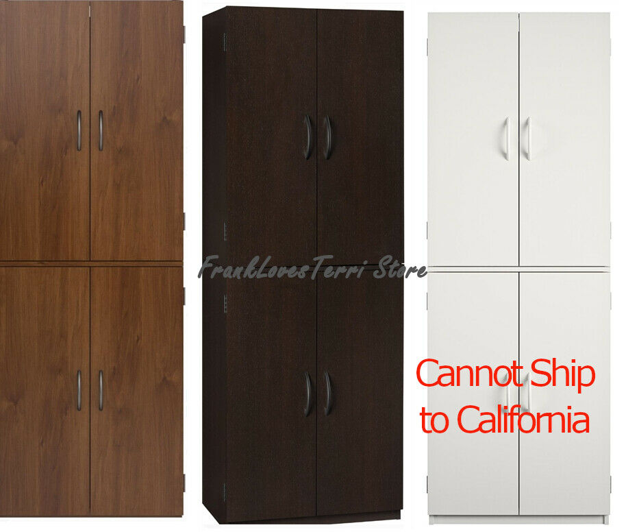 tall storage cabinet kitchen pantry cupboard organizer