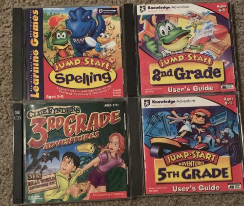Computer Games - Kids Computer Games Lot (4)