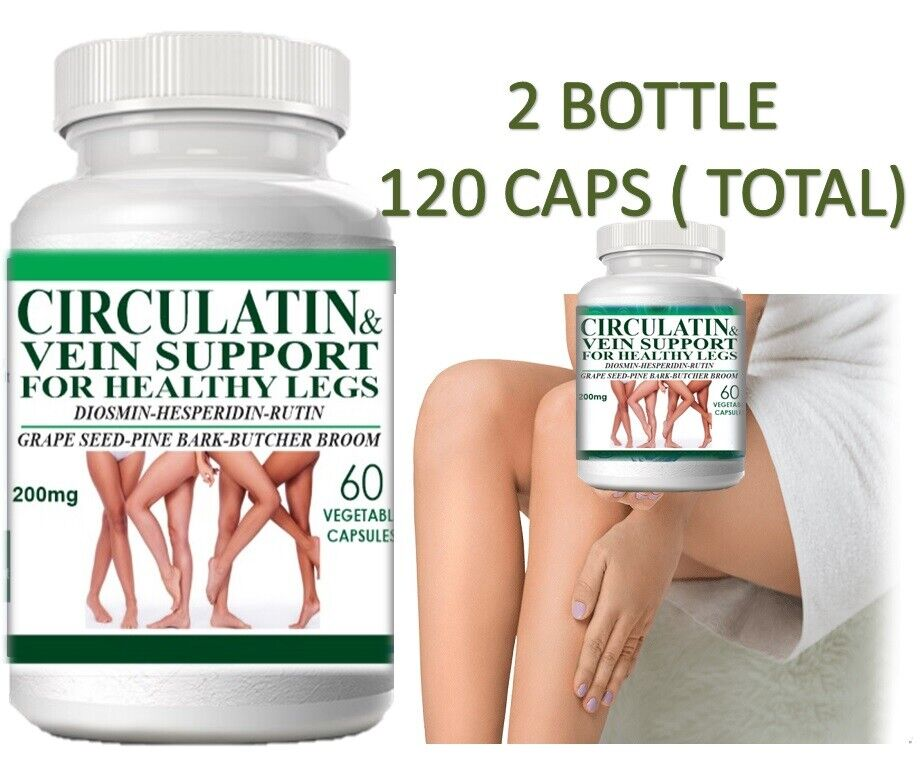 Life Circulation Support Supplement for Arteries and Veins Health - Pills 120  2