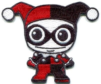 Harley Quinn Baby (Harley Quinn Baby Bestickt Aufbügel Flicken Dc Comics Batman Joker Nähen)