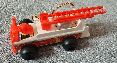 Vintage Fisher Price Fire Engine 1968